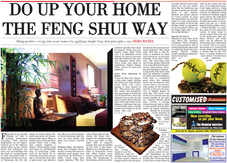 DO UP YOUR HOME THE FENG SHUI WAY Feng Shui News News For Feng Shui Pub
