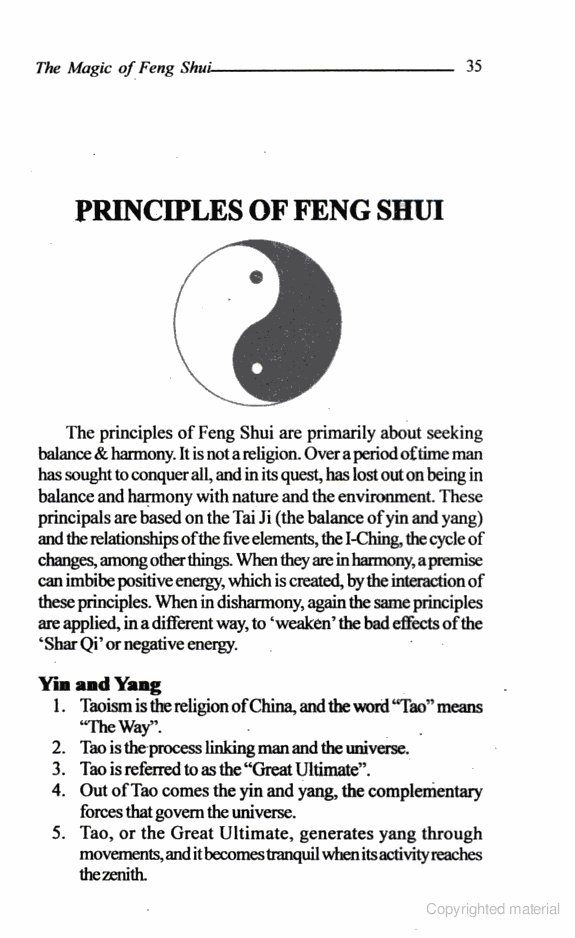 Feng Shui Study Room: Free Online Book On Fengshui, The Magic Of Feng Shui, Feng