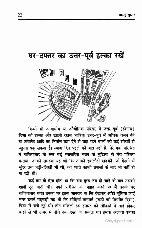 Keep the North East of Home and Office Light. Vastu in Hindi   Vastu Shastra in Hindi   Vastu Tips in Hindi