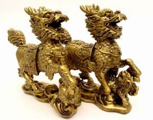 feng shui items for office. you can also display a small image of it on your office table to attract good fortune be displayed anywhere near the front door alone or in pairs feng shui items for