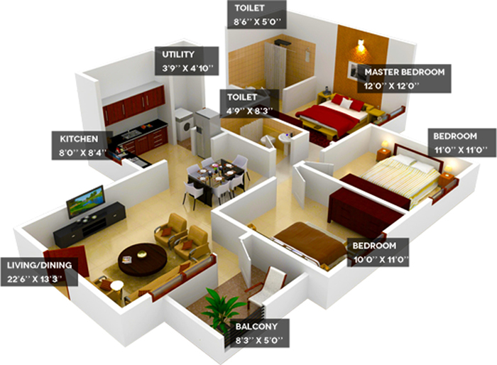 Bedroom Layout For Good Feng Shui