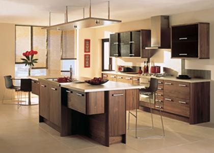 The Colour Scheme Of Kitchen