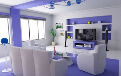 Purple Denotes Luxury Dignity And Ility Makes A Perfect Choice For The Guest S Room Or Living Which May Your Guests Feel Royal